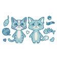 cat mix vector image