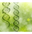 Dna strand background vector | Price: 1 Credit (USD $1)