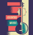 Music poster background with musical instruments