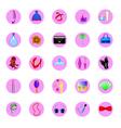 perfume and fashion vector image vector image