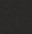 seamless dark pattern with tile white polka dots vector image vector image