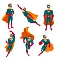 Superhero Actions Icon Set