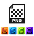 black png file document icon download png button vector image