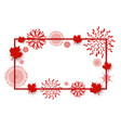 canada day background design vector image vector image