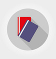 flat folder icon flat vector image