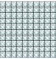 Seamless pattern made of princess cut diamonds vector image vector image
