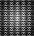 Stainless steel dark pattern abstract background vector image vector image