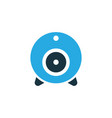 web cam colorful icon symbol premium quality vector image vector image