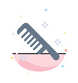 brush comb cosmetic clean abstract flat color