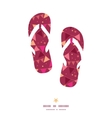 christmas decorations flags flip flops silhouettes vector image