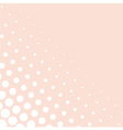 Pink background or decoration with white dots vector image