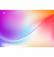 abstract trendy fluid colorful liquid gradients vector image vector image