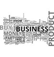 are you in the right business part text word vector image vector image