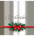 Glossy christmas card vector image