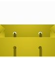 modern shooping bag background vector image