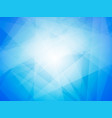 abstract blue shape background vector image