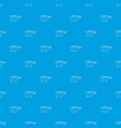 helicopter pattern seamless blue vector image