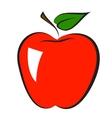 icon apple vector image