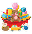 of kids toys vector image vector image