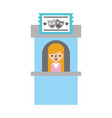 theater box office icon vector image vector image