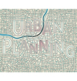 urban planning vector image vector image