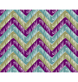 Zigzag striped background vector image vector image