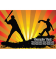 Baseball players vector | Price: 1 Credit (USD $1)