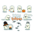 Celebration Happy Halloween vector image