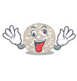 crazy rice cakes isolated in mascot vector image vector image