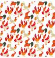 cute cartoon rooster chicken vector image vector image