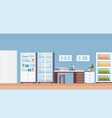 hospital laboratory scientist workplace office vector image vector image