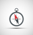 Logo of the compass arrow vector image