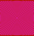 abstract halftone circle pattern background design vector image vector image