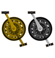 Crank set vector image