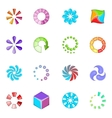 Download status icons set cartoon style vector image vector image