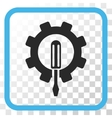 Engineering Icon In a Frame vector image vector image