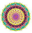 Indian medallion design vector image vector image