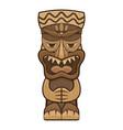 native idol icon cartoon style vector image