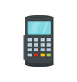 payment digital bank terminal icon flat style vector image vector image