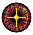roulette icon vector image