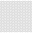 seamless texture background with simple wavy lines vector image vector image