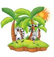 Cartoon Lemur island vector image vector image