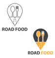 Concept of road food vector image vector image