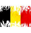 Flag of Belgium vector image vector image