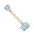 fork ilustratio vector image