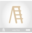 Ladder stepladder stair icon vector image vector image