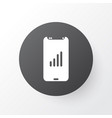 mobile network icon symbol premium quality vector image vector image