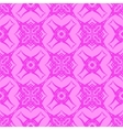 Pink Ornamental Seamless Line Pattern vector image vector image