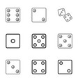 random icons vector image vector image