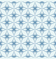 white and blue circles seamless pattern vector image